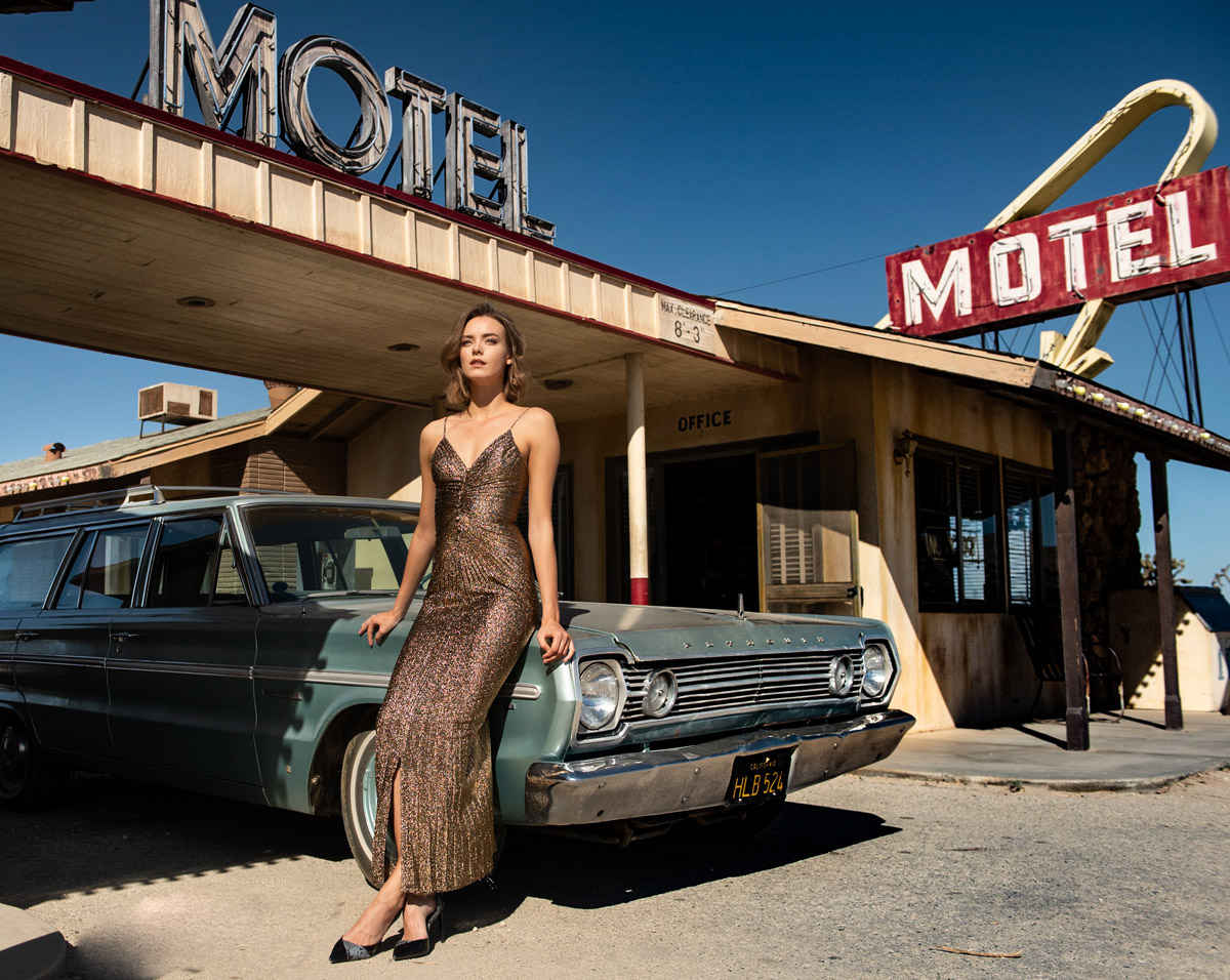 60s California Couple Motel Check in by Peter Mueller Photography 20