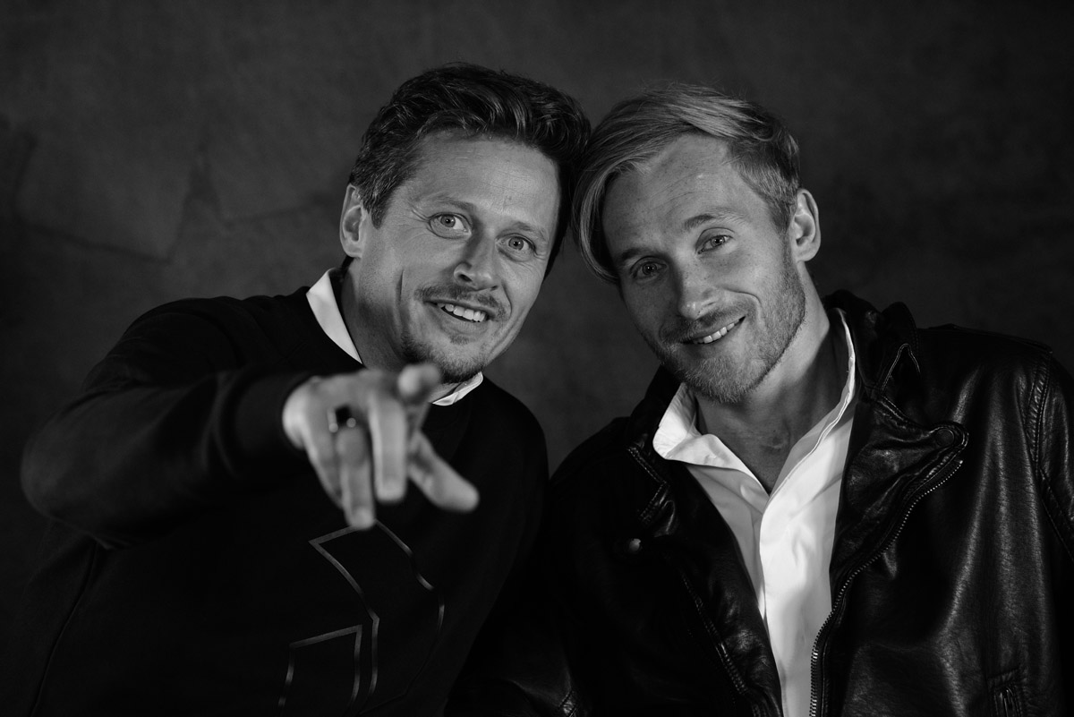 Actors Roman Knizka and Samuel Koch by Peter Mueller Photography 78
