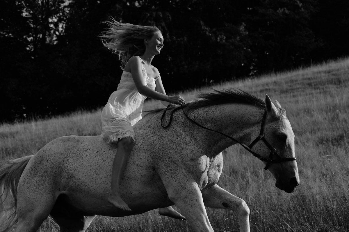 Sarah and her Dog and Horse by Peter Mueller Photography 12