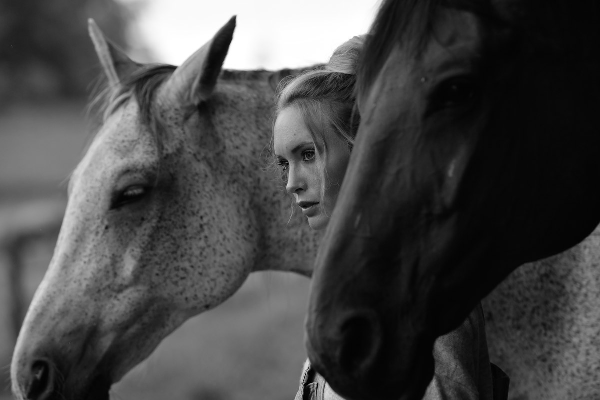 Sarah and her Dog and Horse by Peter Mueller Photography 14