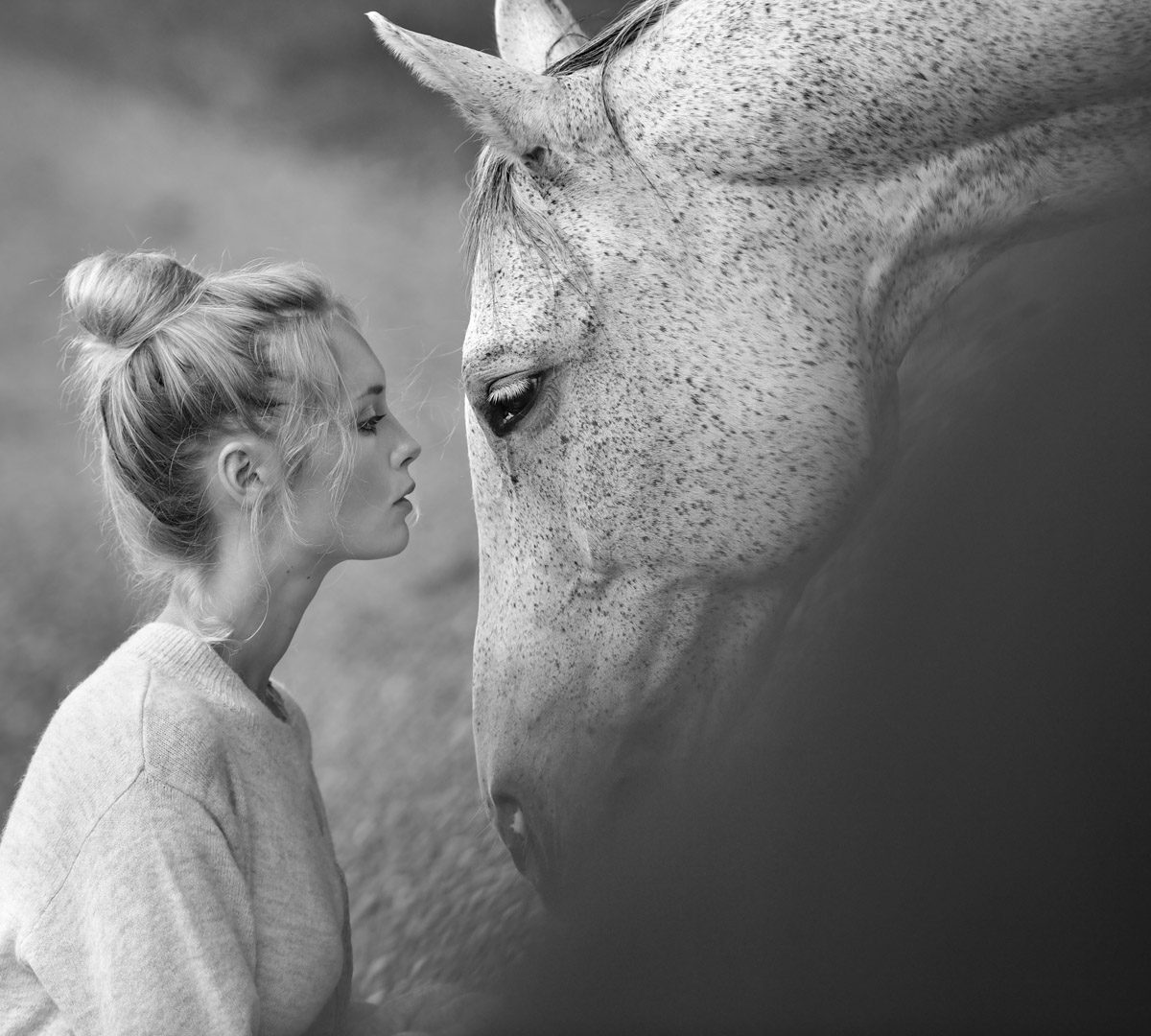 Sarah and her Dog and Horse by Peter Mueller Photography 3