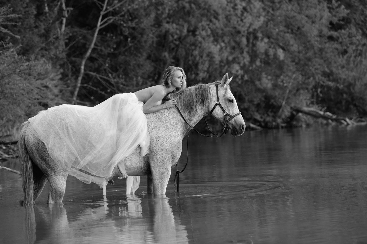 Sarah and her Dog and Horse by Peter Mueller Photography 37