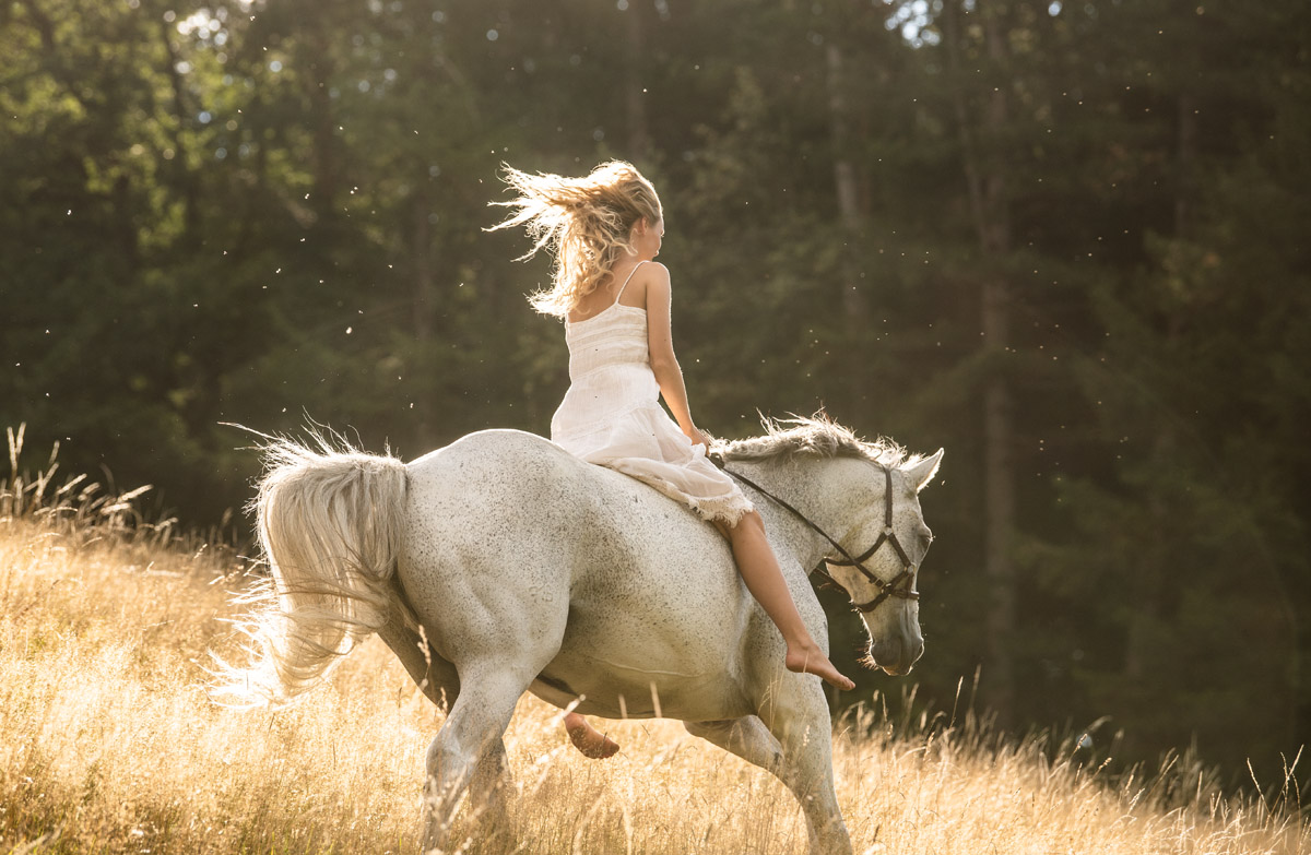 Sarah and her Dog and Horse by Peter Mueller Photography 39