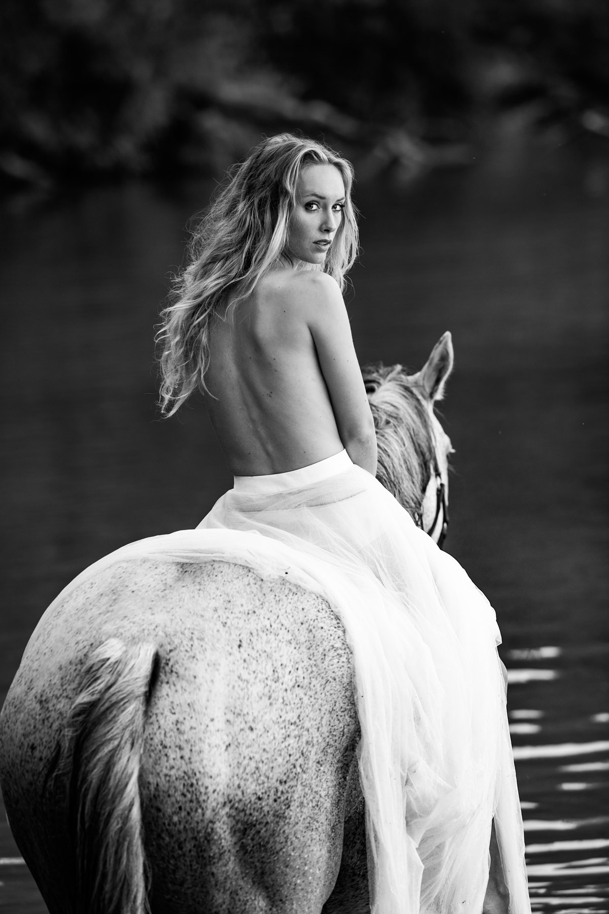 Sarah and her Dog and Horse by Peter Mueller Photography 41