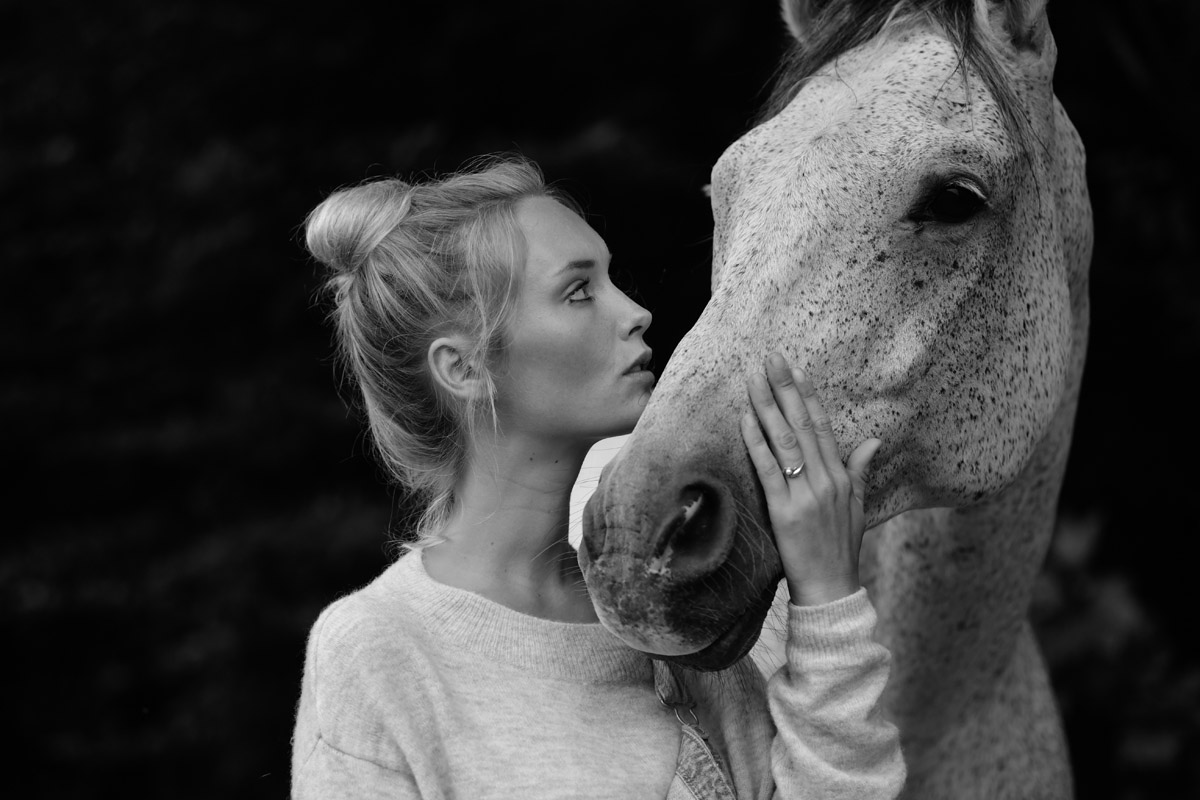 Sarah and her Dog and Horse by Peter Mueller Photography 6