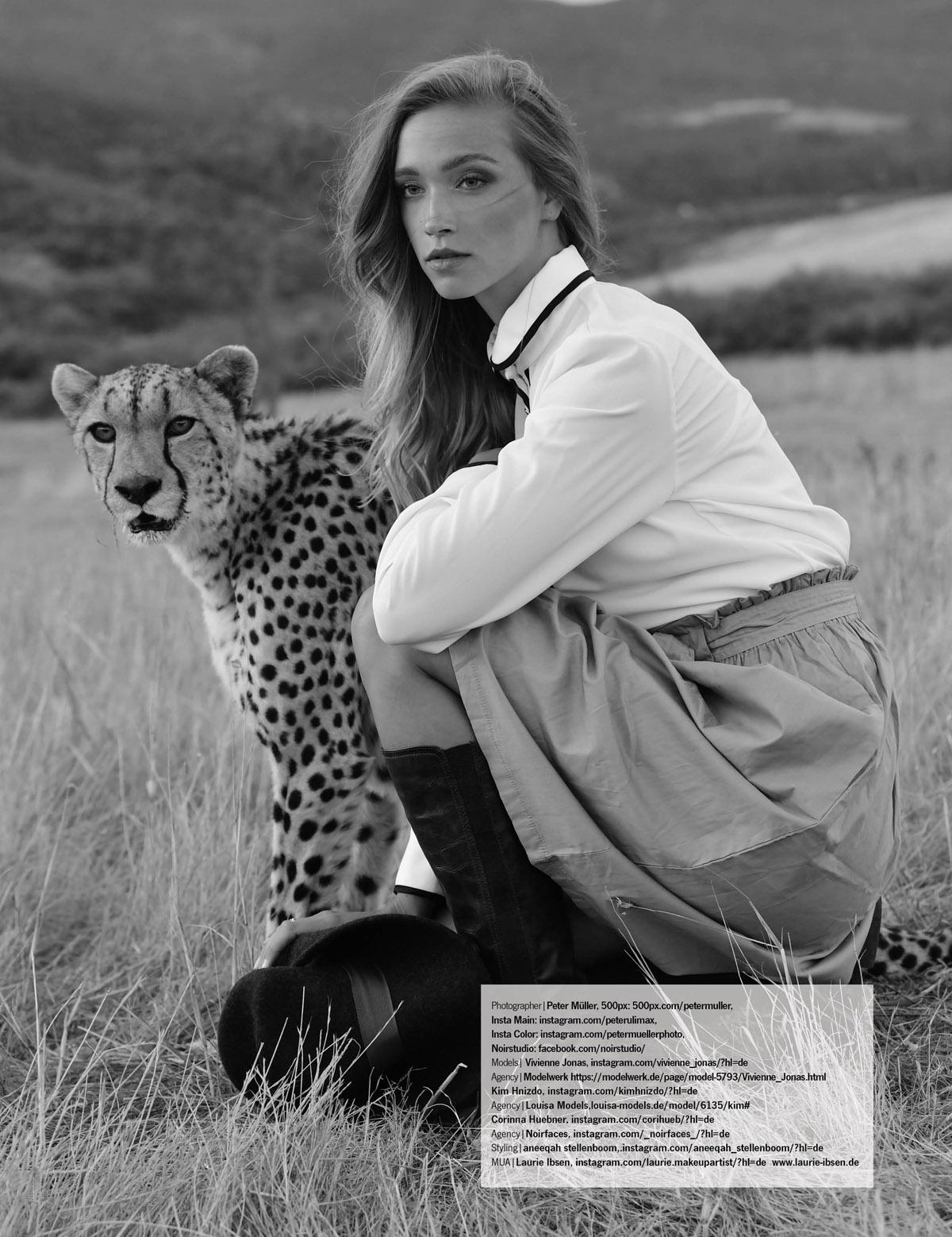 US Publication Cape Town Fashion Editorial Vivienne Jonas, Kim Hnizdo, Sam Moffath, Corinna Huebner by Peter Mueller Photography 14
