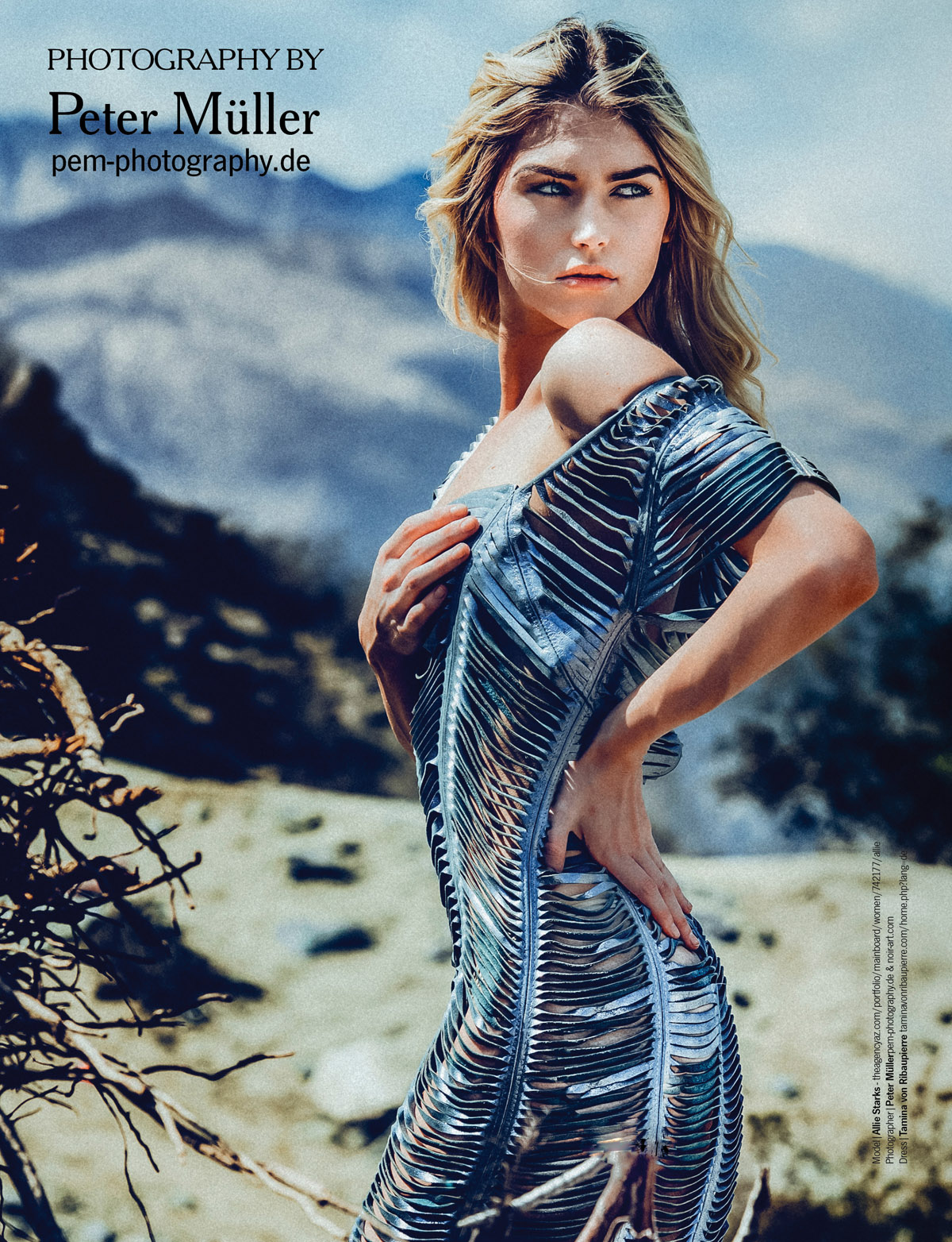 US Publication Desert Fashion Editorial Allie Starks by Peter Mueller Photography 9